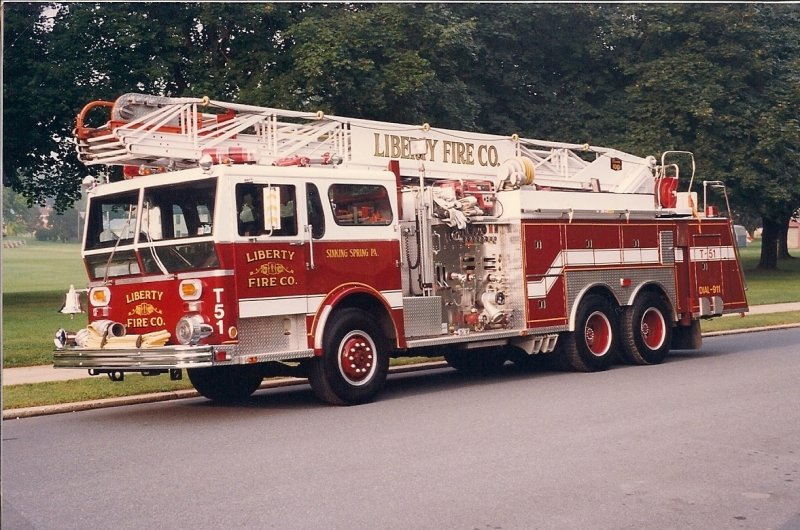 Liberty Fire Co. Truck 51