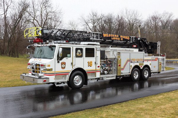 Western Berks Fire Department Ladder 18