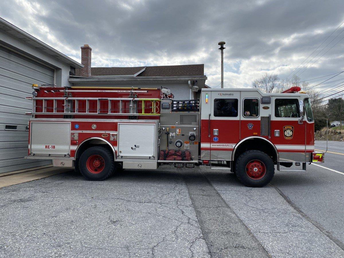Western Berks Fire Rescue Engine 18