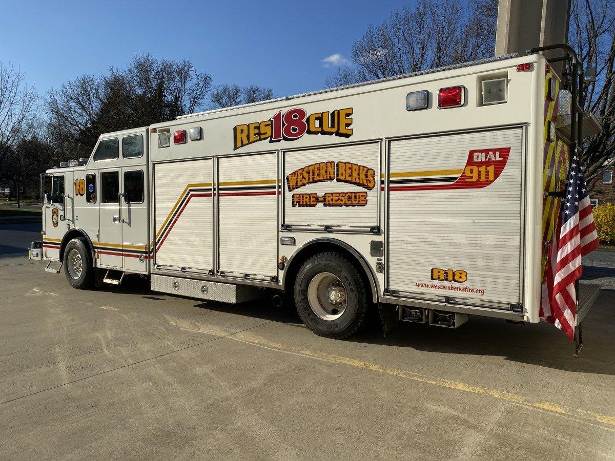 Western Berks Fire Rescue 18
