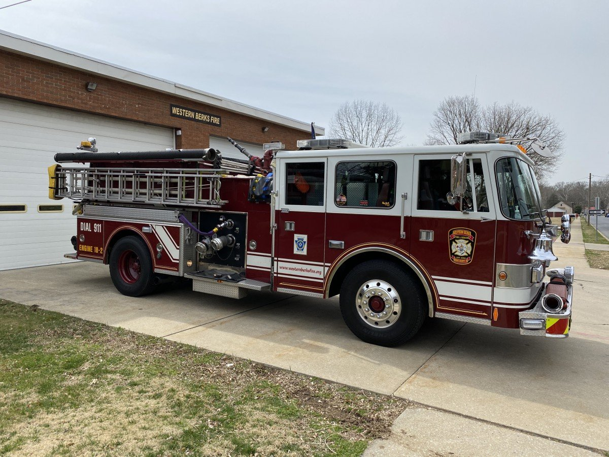 Western Berks Fire Engine 18-2