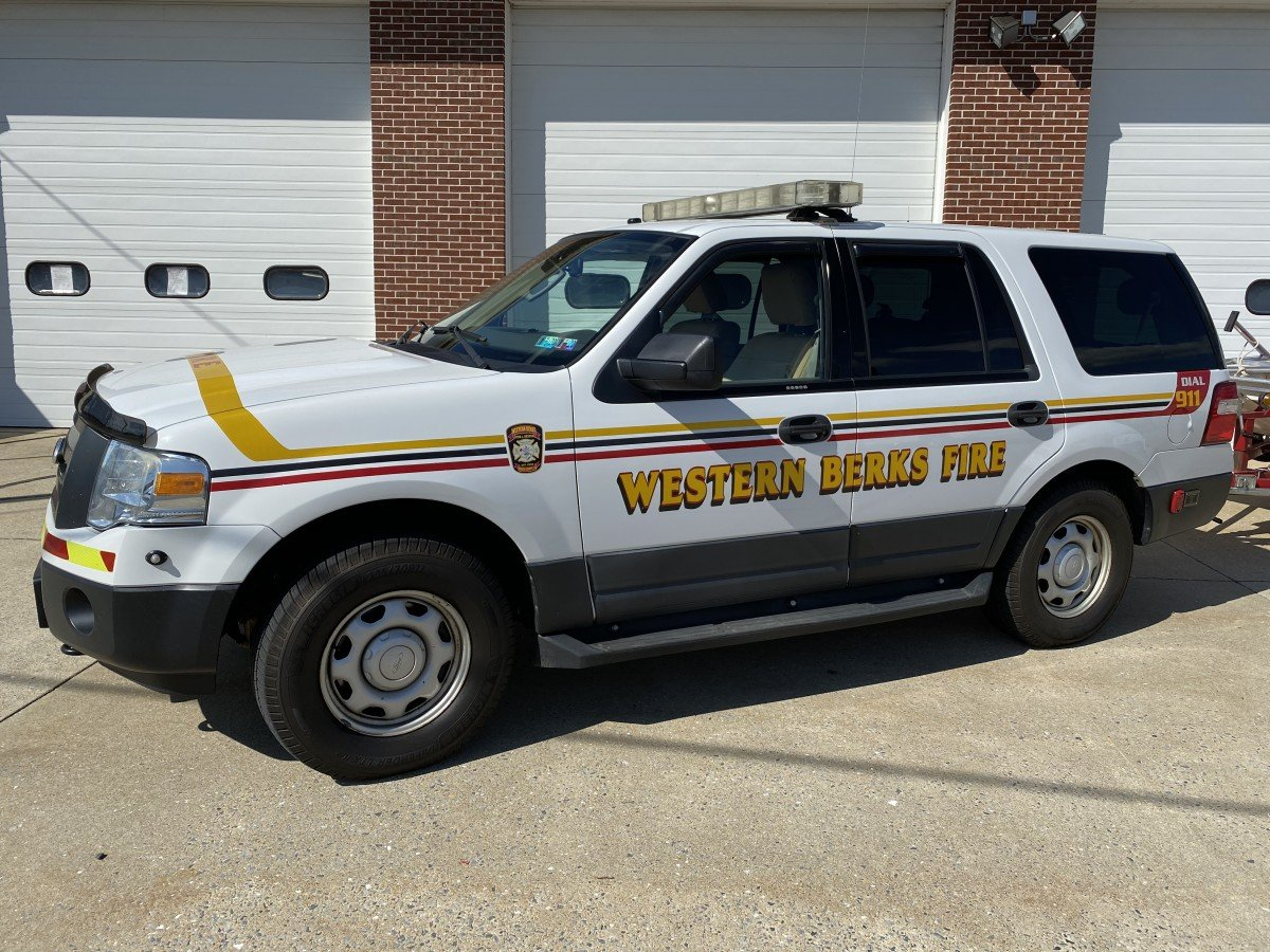 Western Berks Fire Car 18