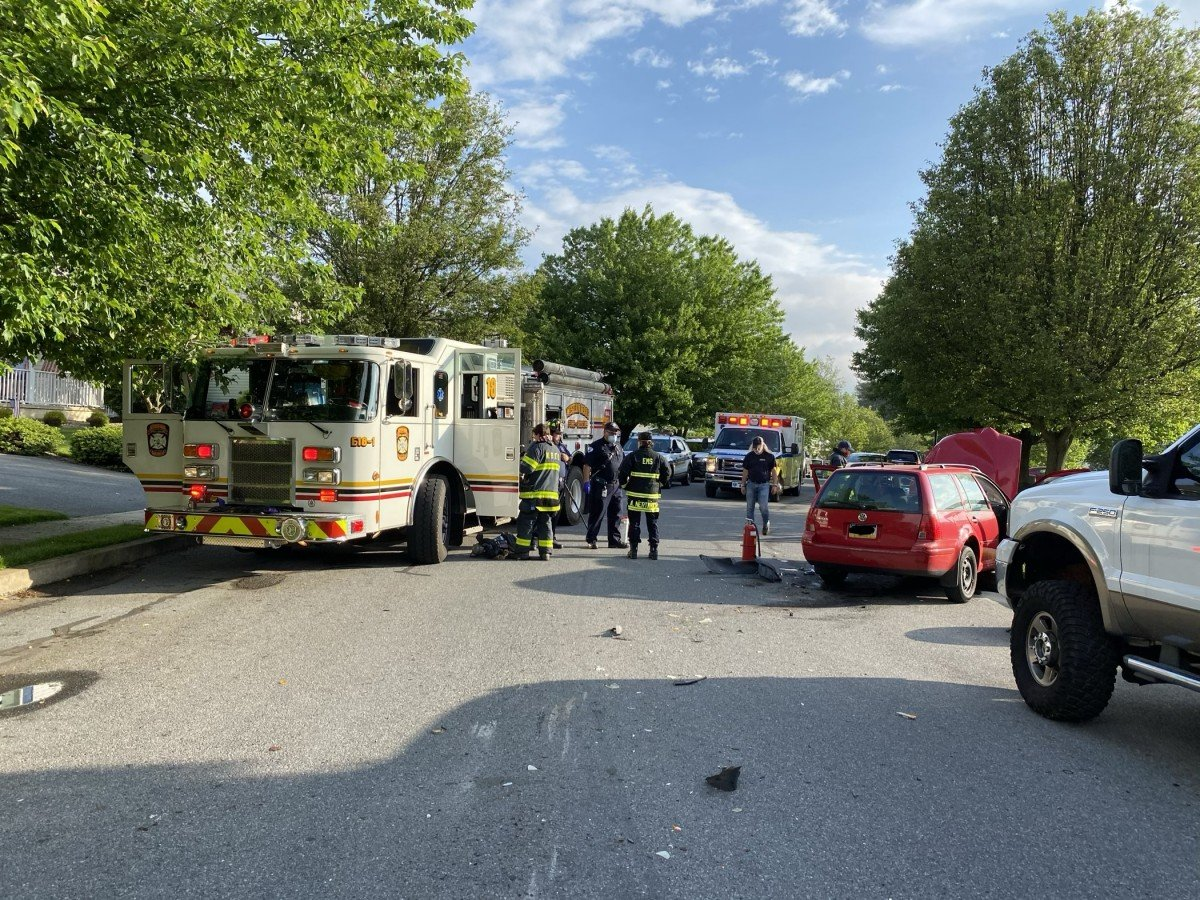 Accident in South Heidelberg Twp